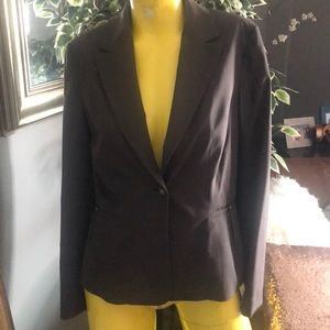 BANANA REPUBLIC BROWN BLAZER NWOT